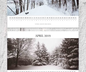 etsy, winter photography, and printable calendar image