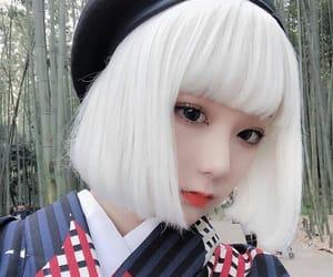 beautiful girl, girl, and japanese image