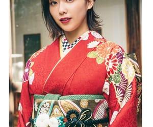 kimono, 欅坂46, and 渡邉理佐 image