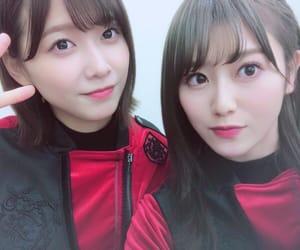 欅坂46, 守屋茜, and 渡邉理佐 image