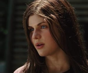 percy jackson, alexandra daddario, and annabeth chase image