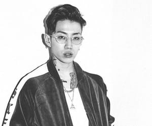 black and white, k-pop, and jay park image