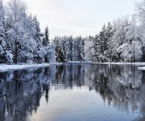 beautiful places, magic, and snow image