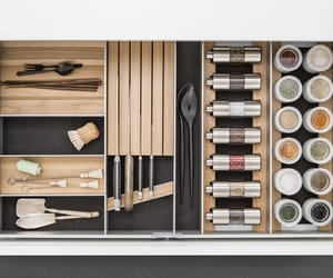 drawer, kitchen, and knife image