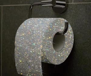 glitter, sparkle, and toilet paper image