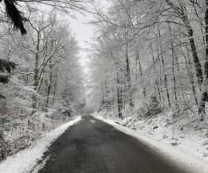aesthetic, germany, and snow image
