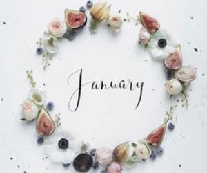 january, new year, and 2018 image
