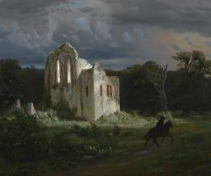 19th century, arnold bocklin, and art image