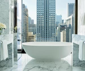 bathroom, chicago, and marble image