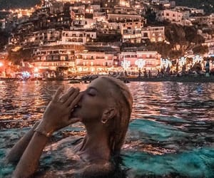 girl, sea, and travel image