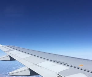 airplanes, sky, and avion image