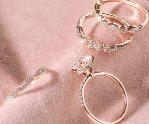 jewelry, luxury, and rings image