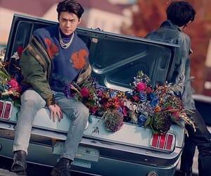 exo, love shot, and sehun image
