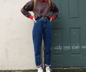 style, fashion, and 80s image