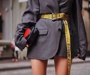 fashion, belt, and girl image