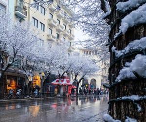 christmas, january, and thessaloniki image
