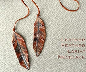 necklace, easy diy, and boho image