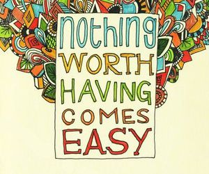 quotes, Easy, and text image