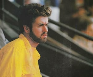 george michael, handsome, and singer image