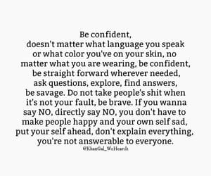 confidence, empowerment, and quotes image