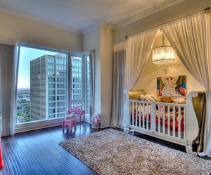 nursery, baby, and decor image