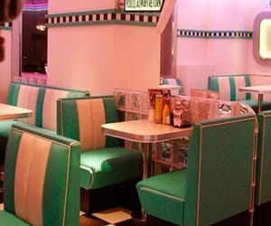 80s, aesthetic, and diner image