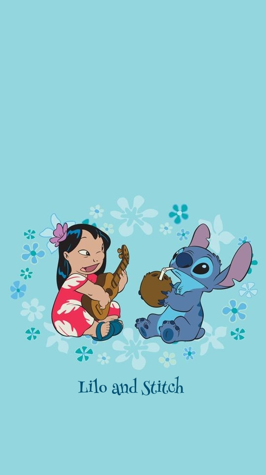 Lilo And Stitch Lockscreen Discovered By Lamico