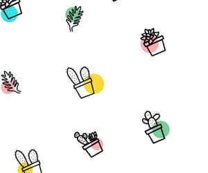 wallpaper, cactus, and succulents image