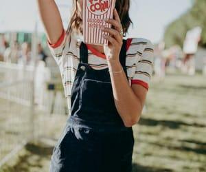 70's, food, and popcorn image