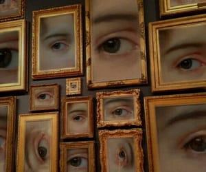 aesthetic, art, and eyes image