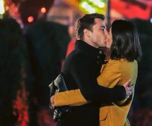 kiss, story, and yellow image