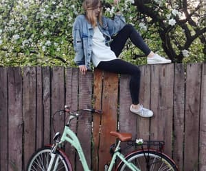bicycle, sport, and bike image