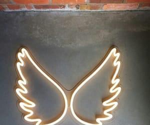 lights, neon, and winks image