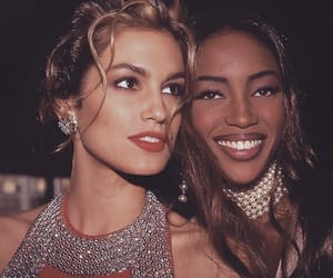 cindy crawford, model, and Naomi Campbell image