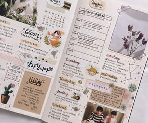bullet journal, journal, and diary image