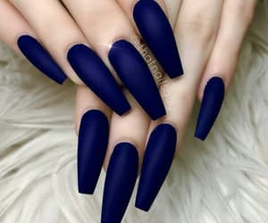 blue, girly, and matte image