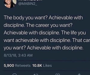discipline, goals, and money image