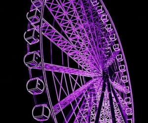 purple, aesthetic, and night image