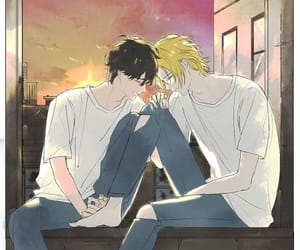 banana fish and asheiji image