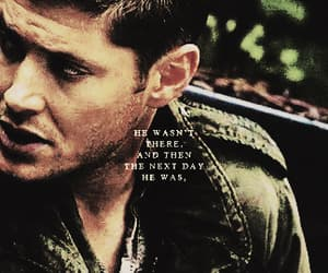 dean winchester, edit, and book quote image