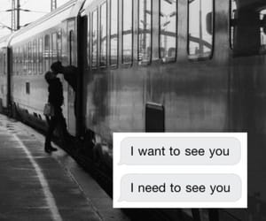 quotes, train, and love image