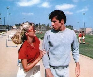 vintage, grease, and John Travolta image