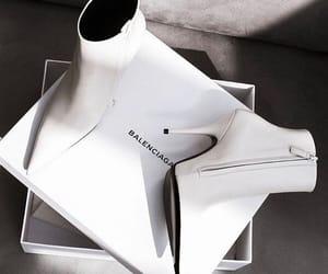 Balenciaga, fashion, and boots image