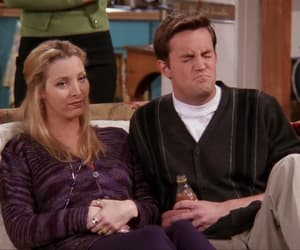 chandler bing, reaction, and friends image