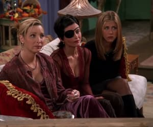 monica geller, phoebe buffay, and rachel green image