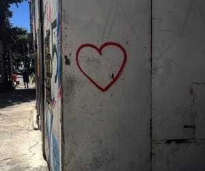 heart, grunge, and street image