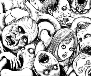 anime and horror image