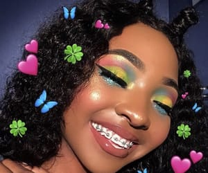 makeup and braces image