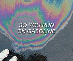 badlands, gasoline, and Lyrics image