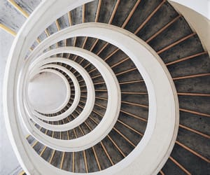 spiral and stairway image